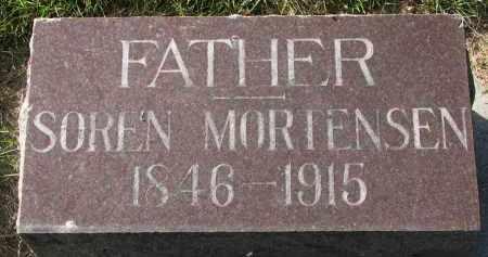 MORTENSEN, SOREN - Yankton County, South Dakota | SOREN MORTENSEN - South Dakota Gravestone Photos