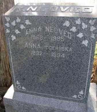 NEDVED, ANNA - Yankton County, South Dakota   ANNA NEDVED - South Dakota Gravestone Photos