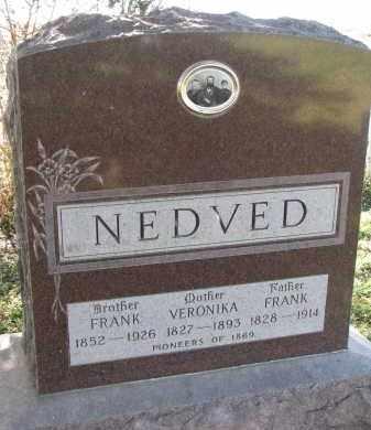 NEDVED, FRANK - Yankton County, South Dakota | FRANK NEDVED - South Dakota Gravestone Photos
