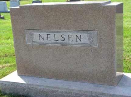 NELSEN, FAMILY STONE - Yankton County, South Dakota | FAMILY STONE NELSEN - South Dakota Gravestone Photos