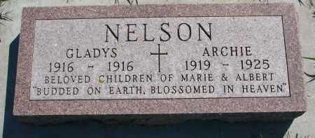 NELSON, GLADYS - Yankton County, South Dakota   GLADYS NELSON - South Dakota Gravestone Photos