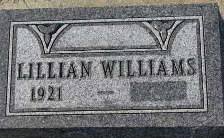 WILLIAMS NELSON, LILLIAN - Yankton County, South Dakota   LILLIAN WILLIAMS NELSON - South Dakota Gravestone Photos