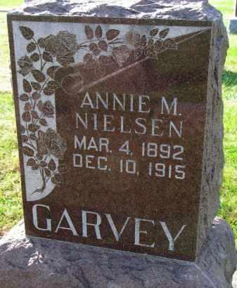 NIELSEN GARVEY, ANNIE M. - Yankton County, South Dakota | ANNIE M. NIELSEN GARVEY - South Dakota Gravestone Photos