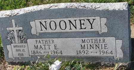 NOONEY, MATT E. - Yankton County, South Dakota   MATT E. NOONEY - South Dakota Gravestone Photos