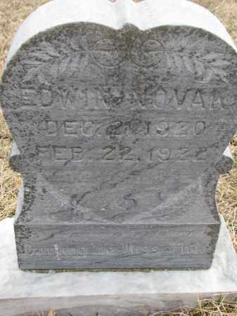 NOVAK, EDWIN - Yankton County, South Dakota | EDWIN NOVAK - South Dakota Gravestone Photos