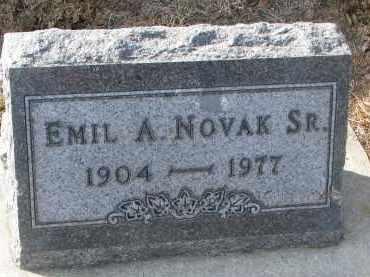 NOVAK, EMIL A. SR. - Yankton County, South Dakota | EMIL A. SR. NOVAK - South Dakota Gravestone Photos