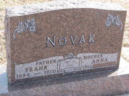 NOVAK, FRANK - Yankton County, South Dakota | FRANK NOVAK - South Dakota Gravestone Photos