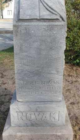 NOVAK, JOSEF - Yankton County, South Dakota | JOSEF NOVAK - South Dakota Gravestone Photos