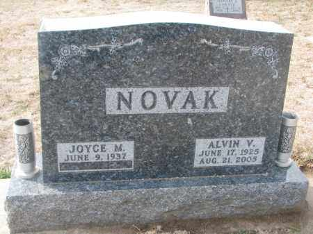 NOVAK, JOYCE M. - Yankton County, South Dakota   JOYCE M. NOVAK - South Dakota Gravestone Photos