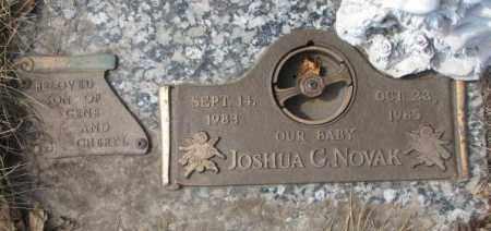 NOVAK, JOSHUA G. - Yankton County, South Dakota | JOSHUA G. NOVAK - South Dakota Gravestone Photos