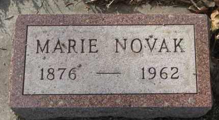 NOVAK, MARIE - Yankton County, South Dakota | MARIE NOVAK - South Dakota Gravestone Photos