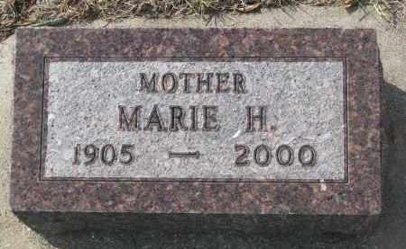 NOVAK, MARIE H. - Yankton County, South Dakota | MARIE H. NOVAK - South Dakota Gravestone Photos