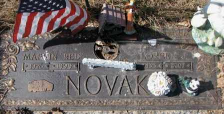 NOVAK, LOREEN J. - Yankton County, South Dakota | LOREEN J. NOVAK - South Dakota Gravestone Photos