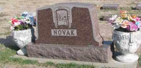 NOVAK, PLOT STONE - Yankton County, South Dakota | PLOT STONE NOVAK - South Dakota Gravestone Photos