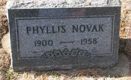 NOVAK, PHYLLIS - Yankton County, South Dakota   PHYLLIS NOVAK - South Dakota Gravestone Photos