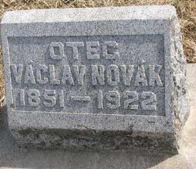 NOVAK, VACLAV - Yankton County, South Dakota | VACLAV NOVAK - South Dakota Gravestone Photos