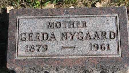 NYGAARD, GERDA - Yankton County, South Dakota   GERDA NYGAARD - South Dakota Gravestone Photos