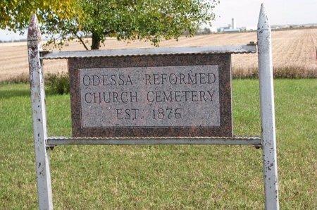 *ODESSA REFORMED, ENTRANCE & HISTORY - Yankton County, South Dakota | ENTRANCE & HISTORY *ODESSA REFORMED - South Dakota Gravestone Photos