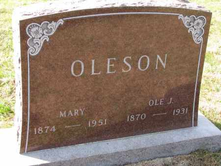OLESON, OLE J. - Yankton County, South Dakota | OLE J. OLESON - South Dakota Gravestone Photos