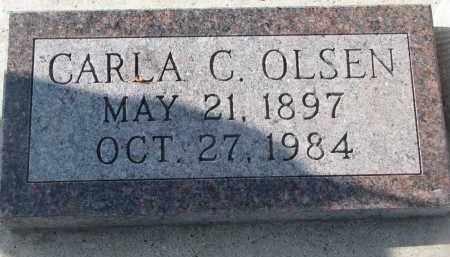 OLSEN, CARLA C. - Yankton County, South Dakota | CARLA C. OLSEN - South Dakota Gravestone Photos