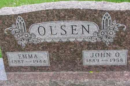 OLSEN, JOHN O. - Yankton County, South Dakota | JOHN O. OLSEN - South Dakota Gravestone Photos
