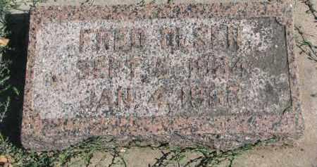 OLSEN, FRED - Yankton County, South Dakota | FRED OLSEN - South Dakota Gravestone Photos