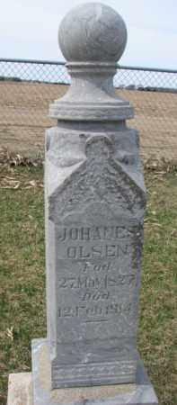 OLSEN, JOHANES - Yankton County, South Dakota | JOHANES OLSEN - South Dakota Gravestone Photos