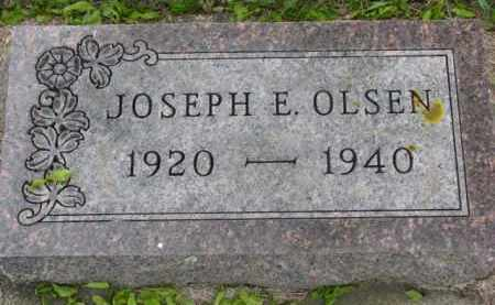 OLSEN, JOSEPH E. - Yankton County, South Dakota | JOSEPH E. OLSEN - South Dakota Gravestone Photos