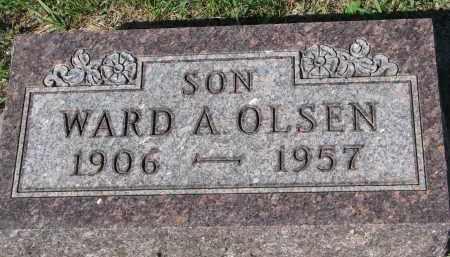 OLSEN, WARD A. - Yankton County, South Dakota | WARD A. OLSEN - South Dakota Gravestone Photos