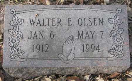 OLSEN, WALTER E. - Yankton County, South Dakota | WALTER E. OLSEN - South Dakota Gravestone Photos