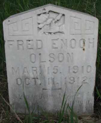 OLSON, FRED ENOCH - Yankton County, South Dakota   FRED ENOCH OLSON - South Dakota Gravestone Photos