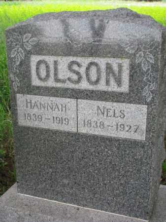 OLSON, HANNAH - Yankton County, South Dakota | HANNAH OLSON - South Dakota Gravestone Photos