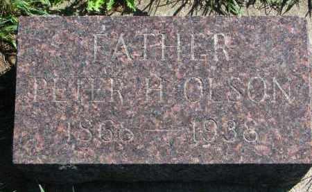 OLSON, PETER H. - Yankton County, South Dakota   PETER H. OLSON - South Dakota Gravestone Photos