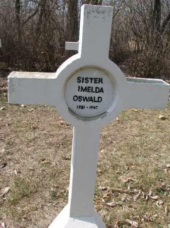 OSWALD, IMELDA - Yankton County, South Dakota | IMELDA OSWALD - South Dakota Gravestone Photos
