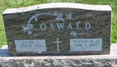 OSWALD, DONALD J. - Yankton County, South Dakota | DONALD J. OSWALD - South Dakota Gravestone Photos