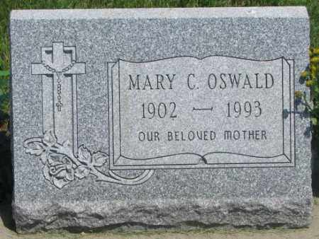 OSWALD, MARY C. - Yankton County, South Dakota | MARY C. OSWALD - South Dakota Gravestone Photos