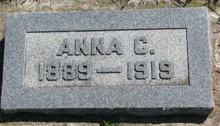 PAULSEN, ANNA C. - Yankton County, South Dakota   ANNA C. PAULSEN - South Dakota Gravestone Photos