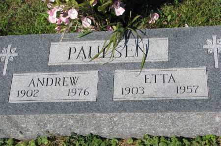 PAULSEN, ANDREW - Yankton County, South Dakota | ANDREW PAULSEN - South Dakota Gravestone Photos