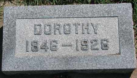 PAULSEN, DOROTHY - Yankton County, South Dakota   DOROTHY PAULSEN - South Dakota Gravestone Photos