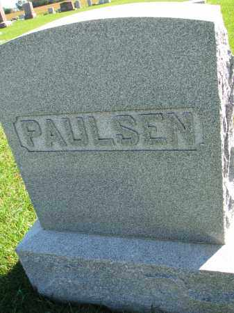 PAULSEN, FAMILY STONE - Yankton County, South Dakota | FAMILY STONE PAULSEN - South Dakota Gravestone Photos