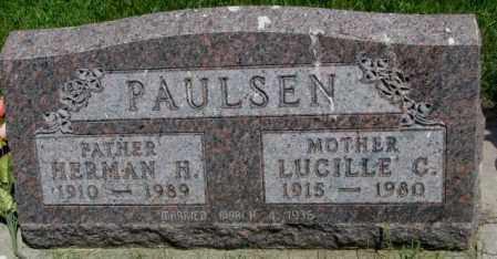 PAULSEN, HERMAN H. - Yankton County, South Dakota | HERMAN H. PAULSEN - South Dakota Gravestone Photos