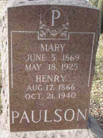 PAULSON, HENRY - Yankton County, South Dakota | HENRY PAULSON - South Dakota Gravestone Photos