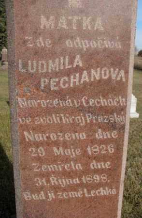 PECHAN, LUDMILA - Yankton County, South Dakota | LUDMILA PECHAN - South Dakota Gravestone Photos