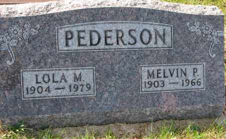 PEDERSON, LOLA M. - Yankton County, South Dakota | LOLA M. PEDERSON - South Dakota Gravestone Photos