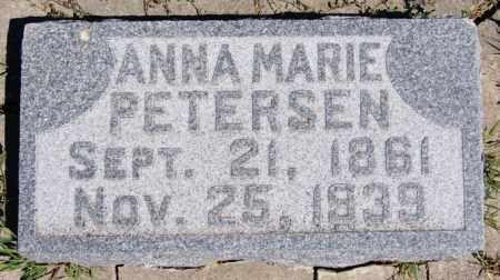 PETERSEN, ANNA MARIE - Yankton County, South Dakota | ANNA MARIE PETERSEN - South Dakota Gravestone Photos