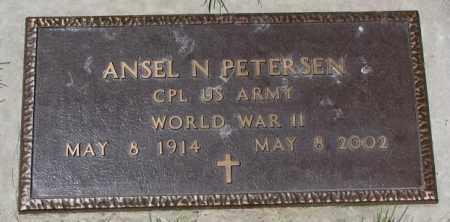 PETERSEN, ANSEL N. (WW II) - Yankton County, South Dakota | ANSEL N. (WW II) PETERSEN - South Dakota Gravestone Photos