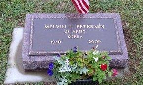 PETERSEN, MELVIN L - Yankton County, South Dakota   MELVIN L PETERSEN - South Dakota Gravestone Photos