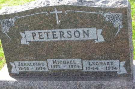 PETERSON, JERALDINE - Yankton County, South Dakota | JERALDINE PETERSON - South Dakota Gravestone Photos