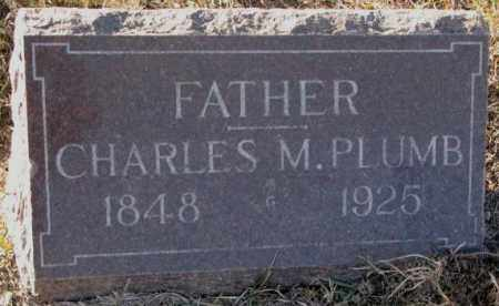 PLUMB, CHARLES M. - Yankton County, South Dakota   CHARLES M. PLUMB - South Dakota Gravestone Photos