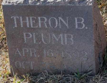 PLUMB, THERON B. - Yankton County, South Dakota | THERON B. PLUMB - South Dakota Gravestone Photos